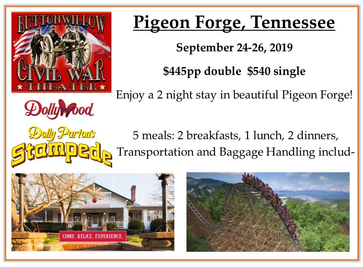 Sept 2019 Pigeon Forge