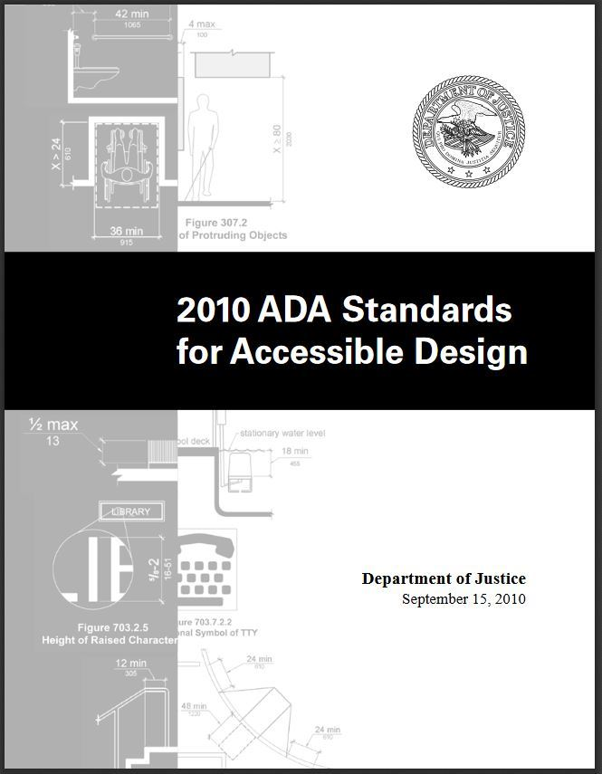 2010 ADA Standards for Accessible Design Image