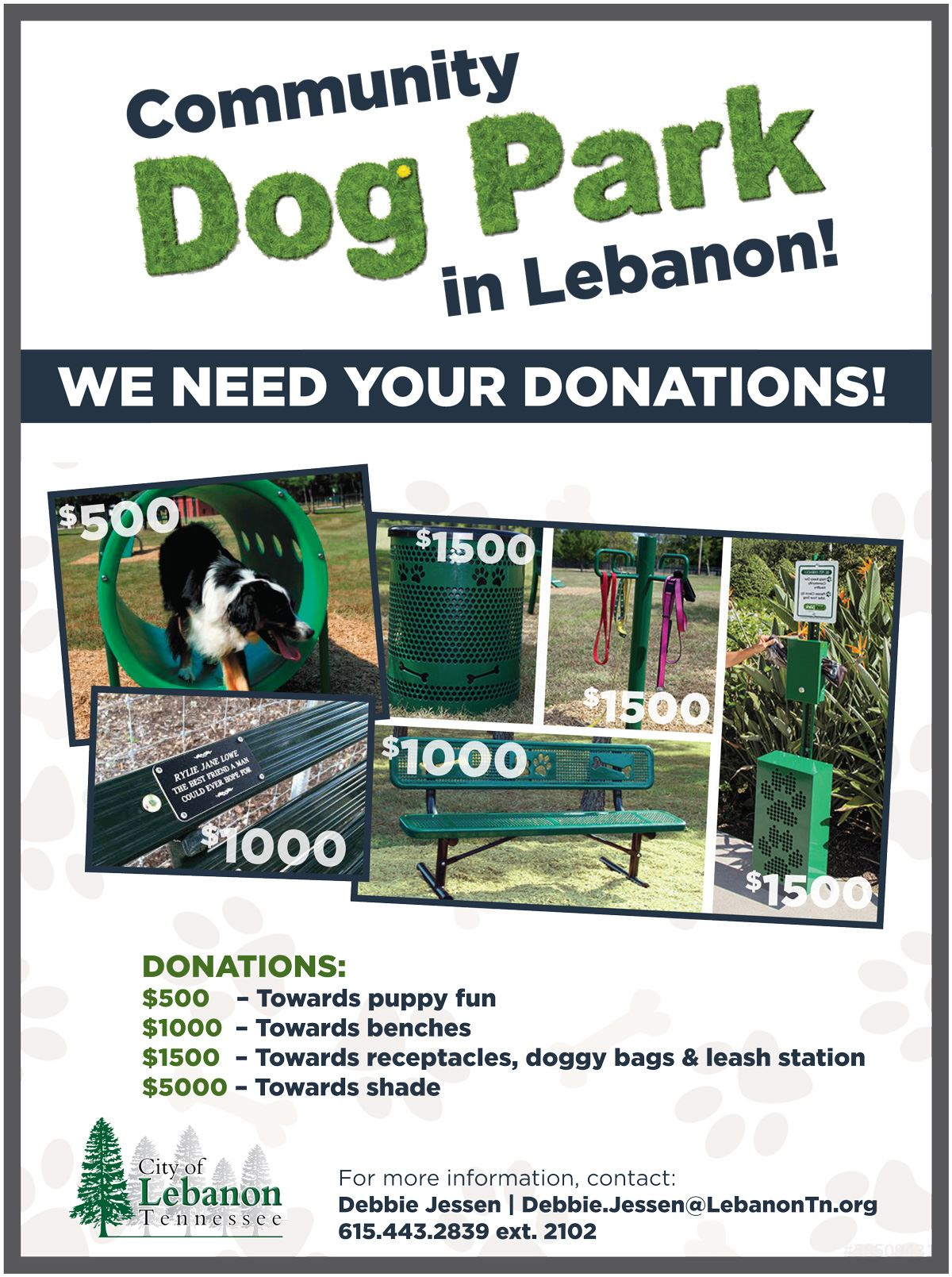 Dog-Park-Donation-Flyer