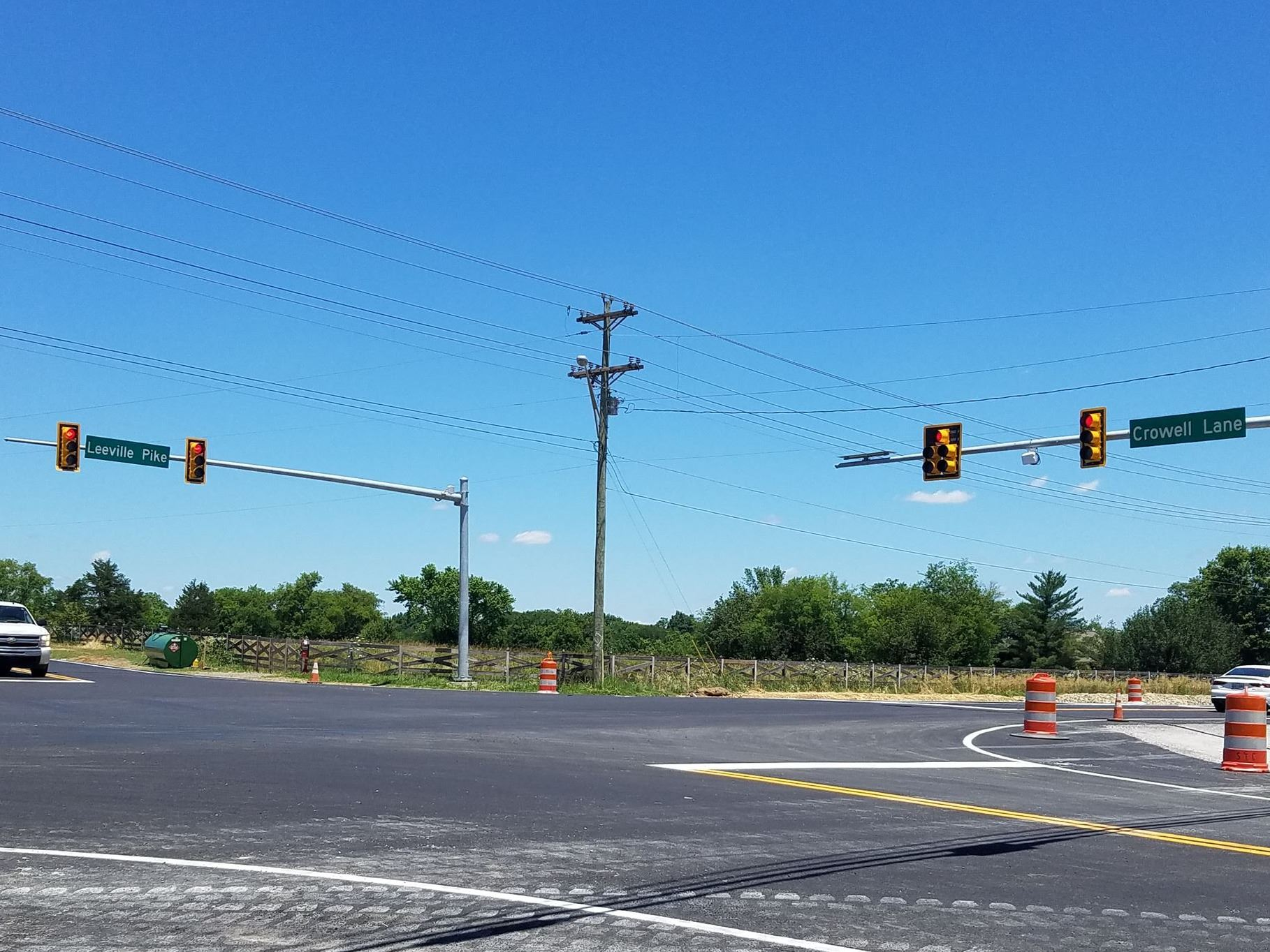 Leeville Pike  Crowell Lane Improvements