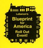 Lebanon Blueprint for America Roll out Event Banner