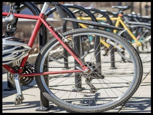 Bike Wheel Image from Outside Magazine