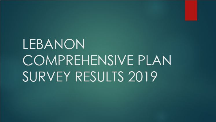 Lebanon Comprehensive Plan Survey Results Opens in new window
